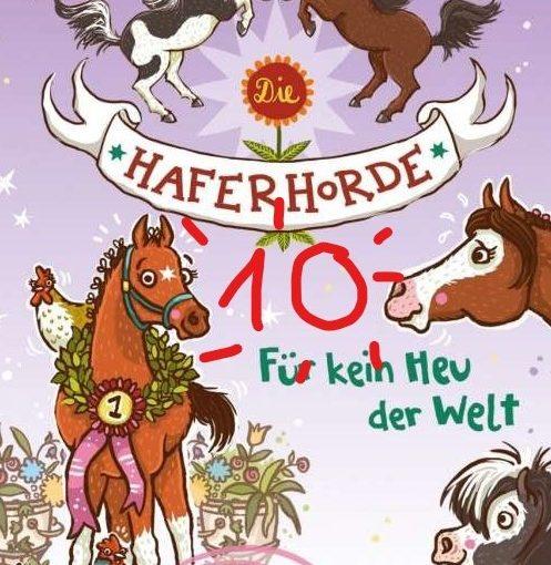 10 Bände Haferhorde!